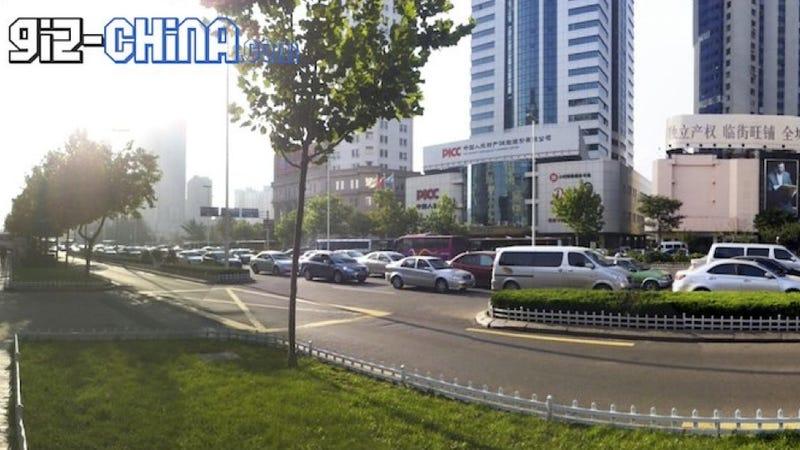 "China celebrates ""Car Free Day"" with massive traffic jam"