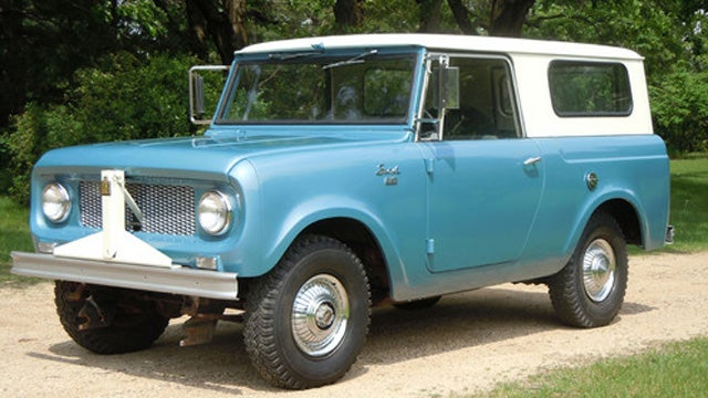 This Is What A Rust-Free International Scout Looks Like