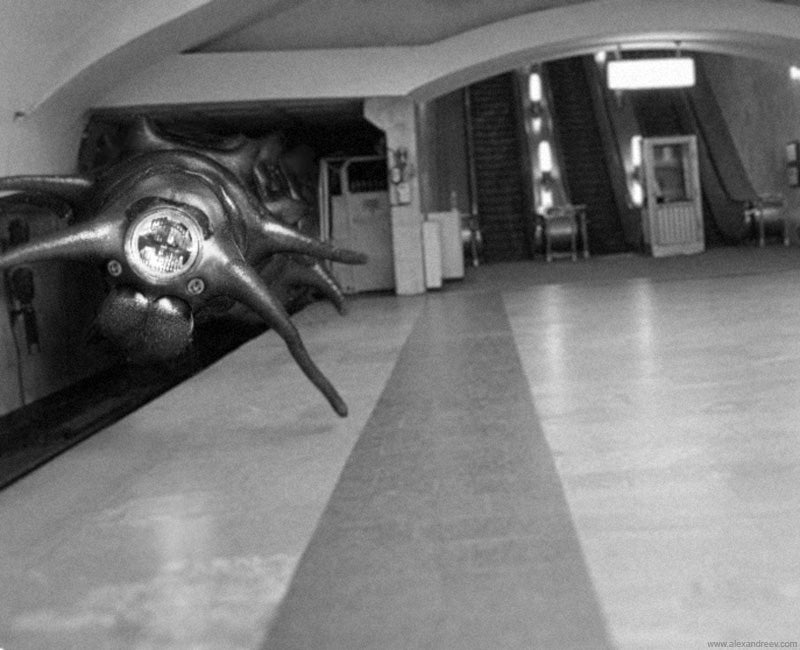 Mutant Bugs Attack Moscow's Subway System