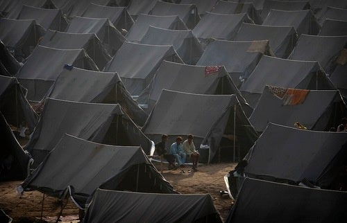 In Tent City