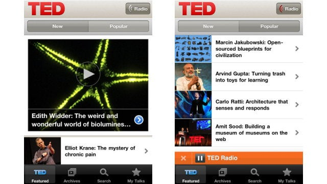 TED Goes Mobile with New iPhone App