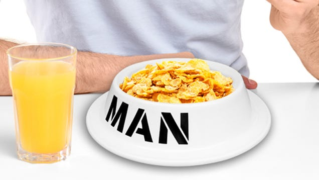 We Really Hope You're Not Gross Enough to Need a Man Bowl