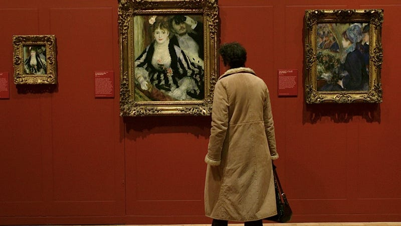 Woman Might Have Luckily Bought a Renoir at a Flea Market for Fifty Bucks