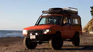 So Much Want: Custom Truck Bed Land Rover Discovery