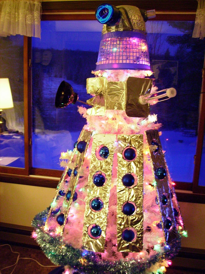 The Dalek Christmas Tree Will Exterminate Your Holiday
