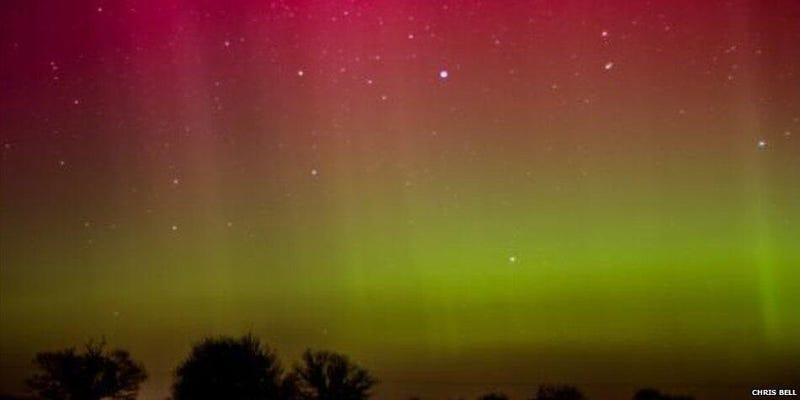 Amazing Views of Last Night's UK Aurora Show