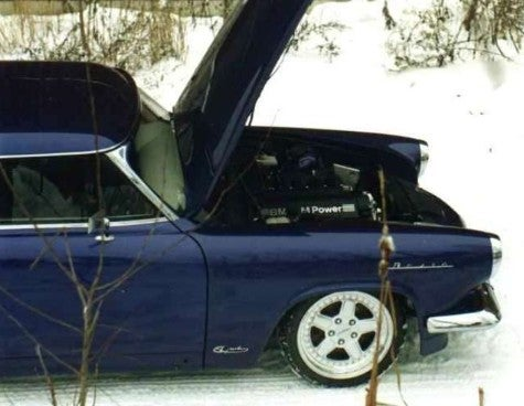 In Russia, Another BMW-Powered Volga, You!