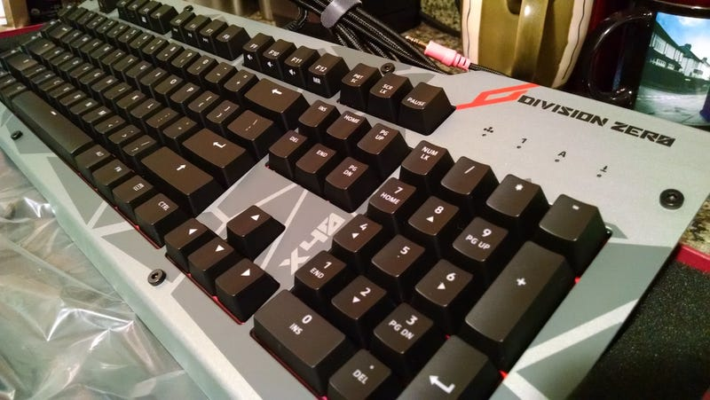 Das Keyboard's Division Zero Is Gaming Gear that Makes Work Fun Too
