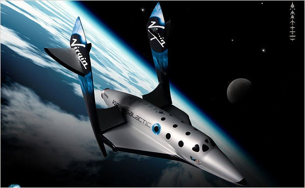 Space Tourism's Sleek New Look