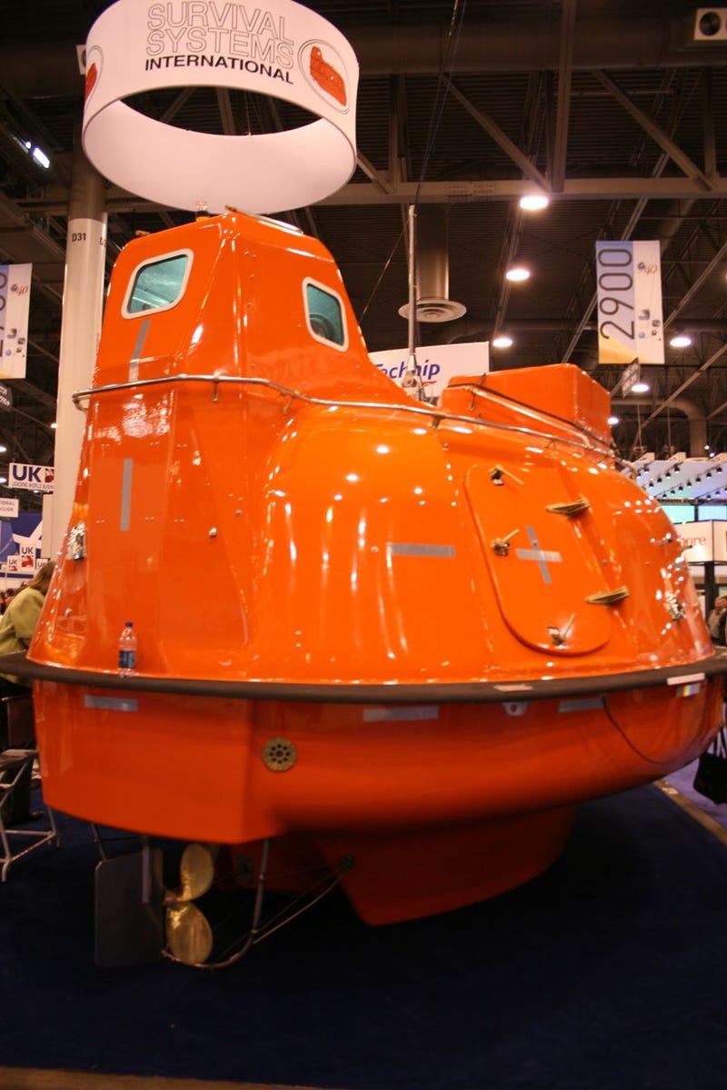High Seas Escape Boat