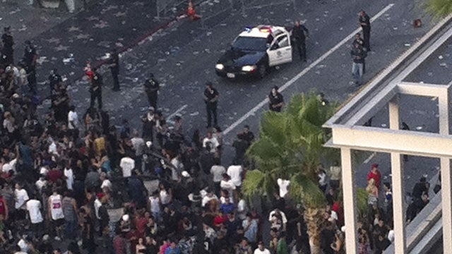 Tweet Causes Riot At L.A. Film Premiere
