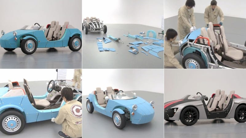 Here's a Car You Assemble Entirely By Hand