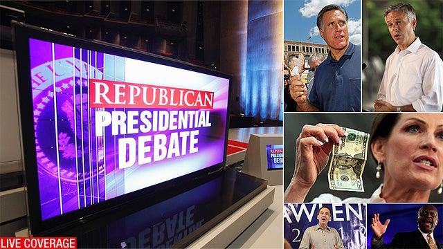 Live: The Iowa GOP Debate