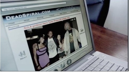 "Sports Website With Silly Name Makes Cameo On ""Southland"""