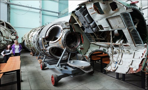 Amazing aerospace porn from the Soviet space program