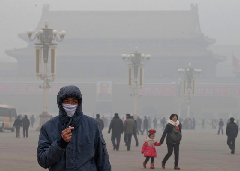 China's Smog Is Double-Plus Good for National Defense, Says China