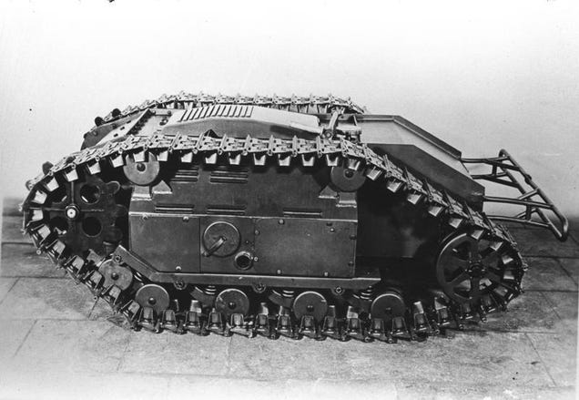 WWII Germany Hunted Tanks with Explosive Goliath Beetles