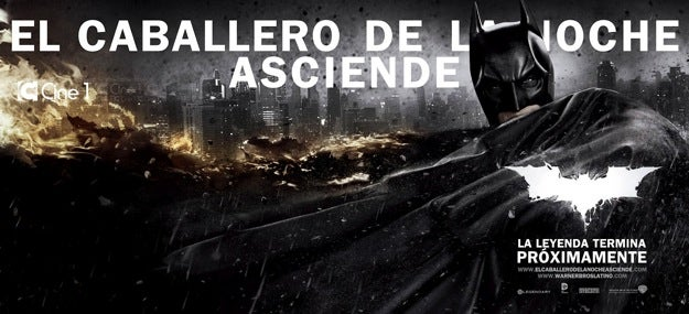 International Banners for The Dark Knight Rises