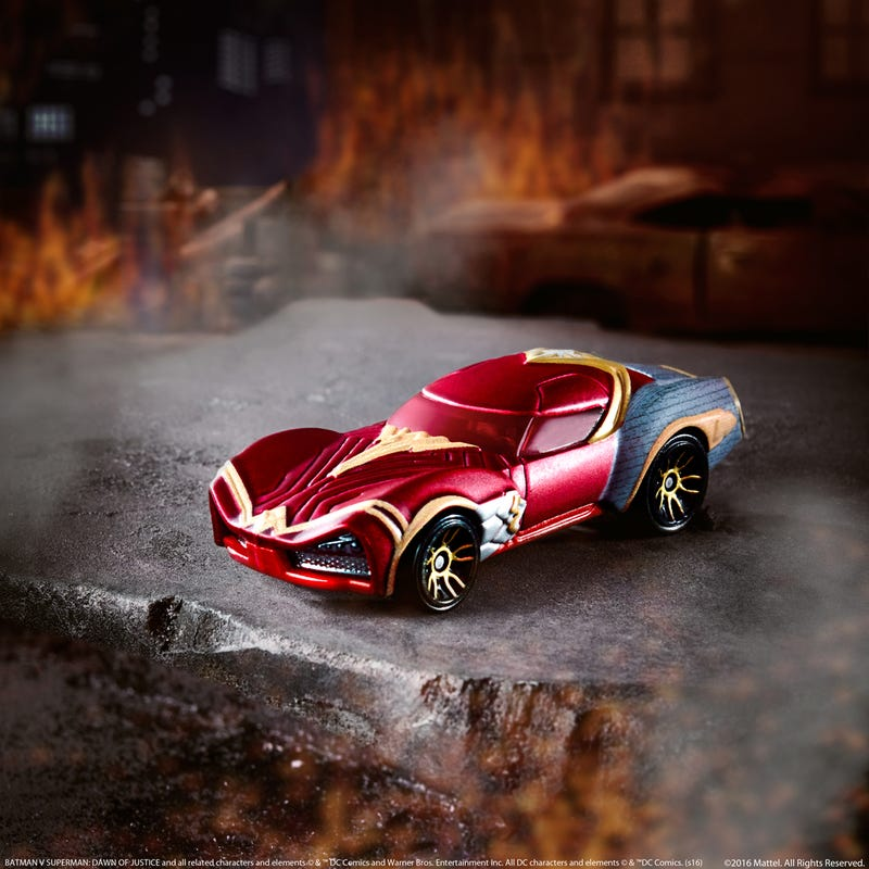 Hot Wheels Rolls Out 4 New Character Cars, But Wonder Woman Steals the Show