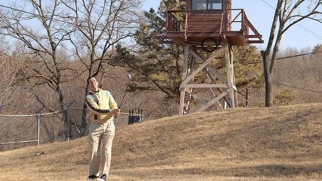 World's deadliest golf course boasts land mines and man-bear-pigs