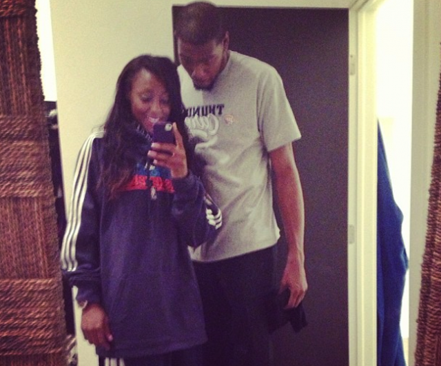 Kevin Durant Got Engaged To WNBA Player Monica Wright