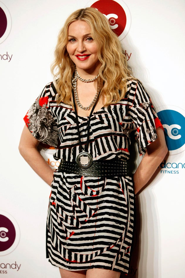 Madonna Opens Gym In Mexico