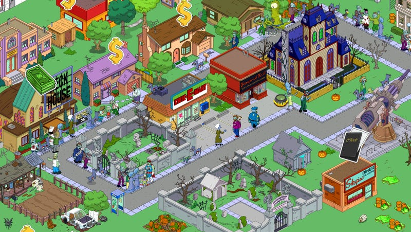 Not Even the Simpson's iPhone Game Can Escape the Treehouse of Horrors