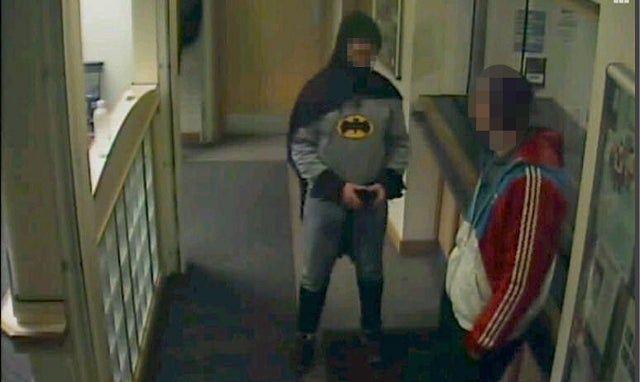 Identity of 'Bradford Batman' Revealed: A Food Delivery Guy Who Was Pulling a Prank with His Burglar Friend