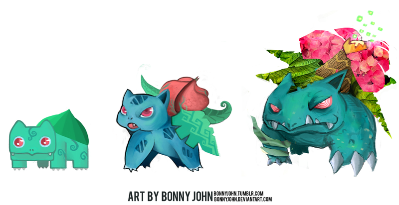 Venusaur- Pokemon One A Day!