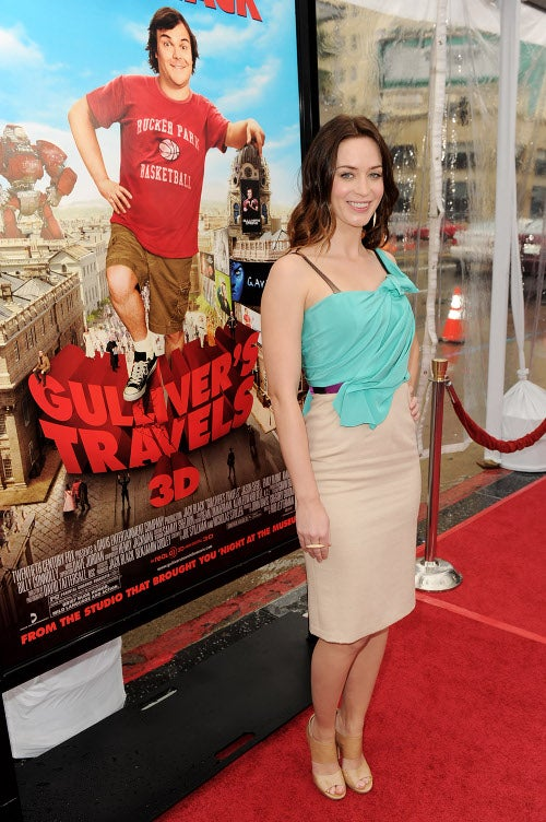 Gulliver's Travels Premiere? Well, Emily Blunt Looked Good!
