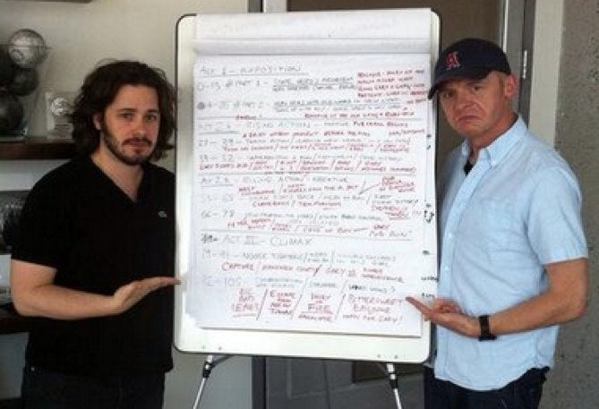 Super early outline shows how Edgar Wright created The World's End