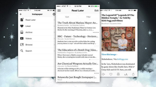 Instapaper for iOS Adds Sorting Options, a Videos Tab, and More