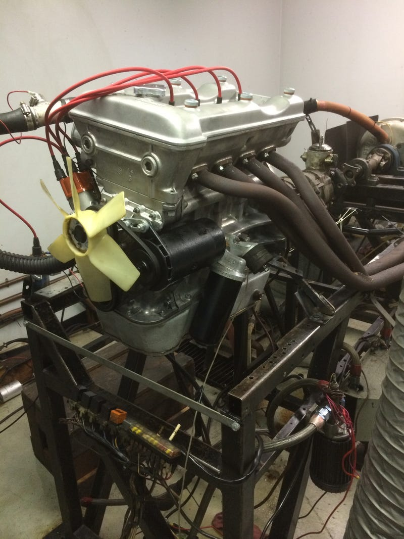 Another eventful visit to Korman Autoworks (many pics) + Alfa