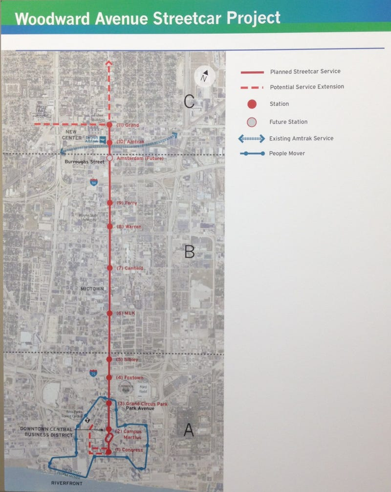 Renderings Are Boring: A Pictorial Of The Woodward Streetcar Line