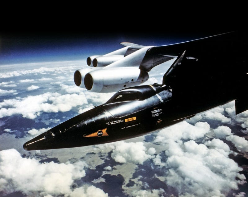 Outstanding photos of the X-15, the fastest manned rocket ...