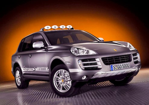 Porsche To Offer 2009 Cayenne S Transsyberia