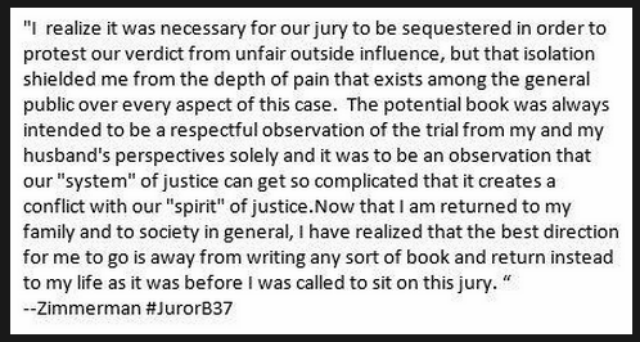BREAKING - Juror B37 Says She Changed Her Mind About Writing A Book AFTER SHE IS DROPPED By Agent