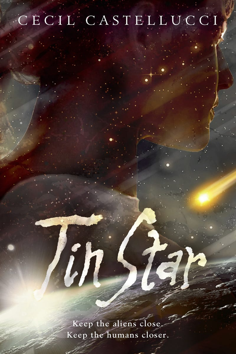 Trapped on a Space Station: First Look at Cecil Castellucci's Tin Star