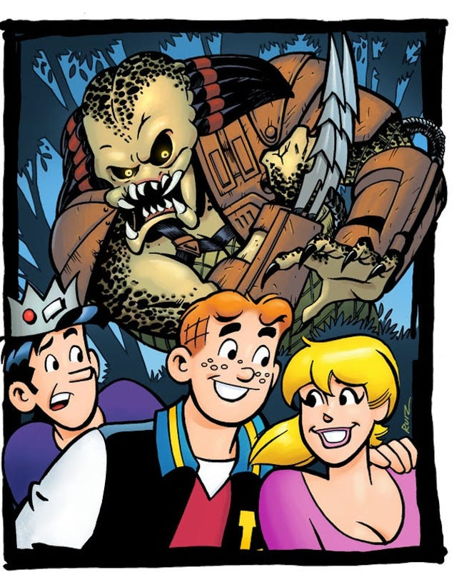 My God, Archie Meets Predator Is Actually A Thing That Is Happening