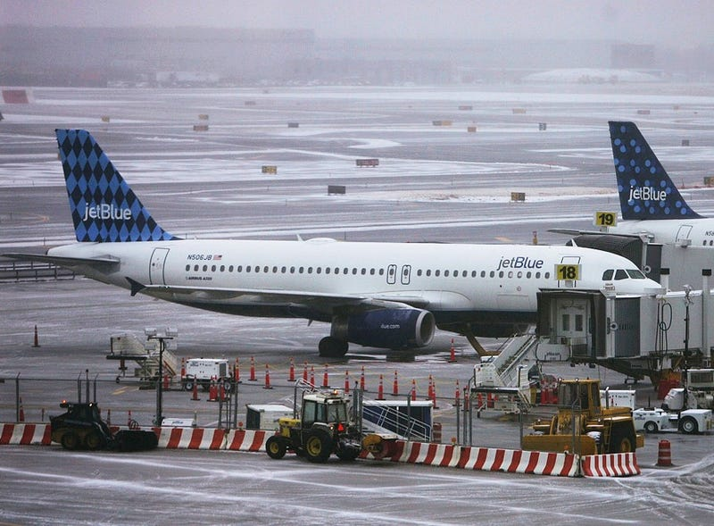 JetBlue Flight Grounded After Pilot Loses His Gun
