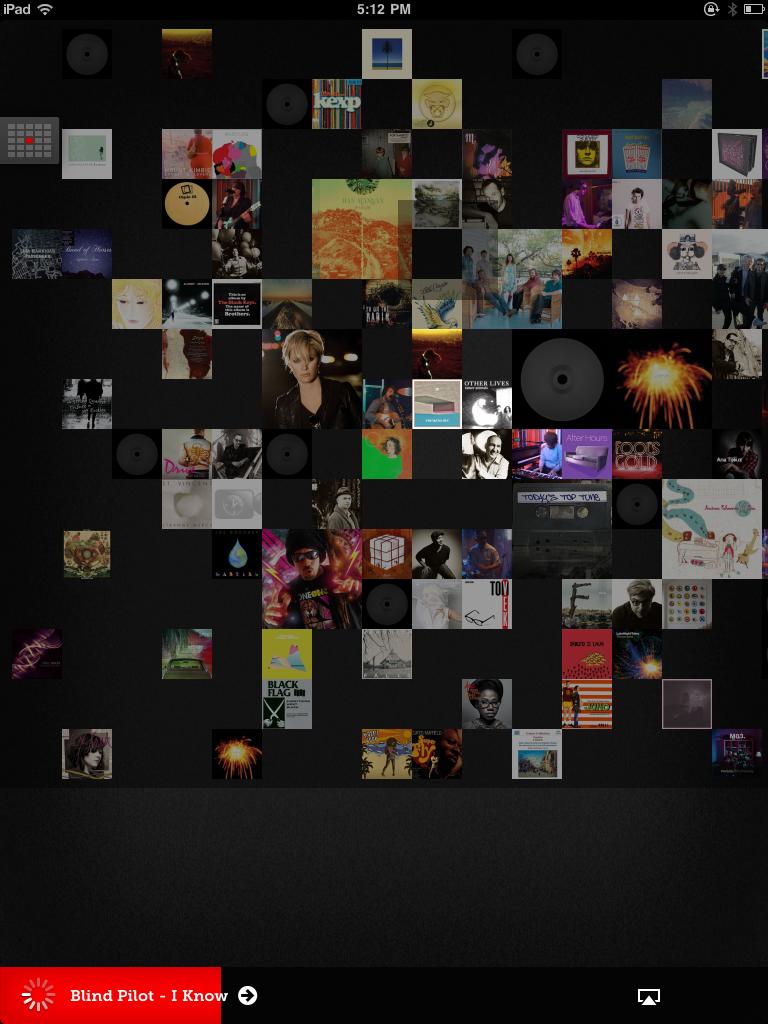 KCRW Music Mine App Gallery