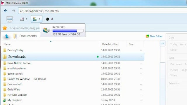 7Files for Windows Streamlines Windows Explorer, Makes File Searches Easier