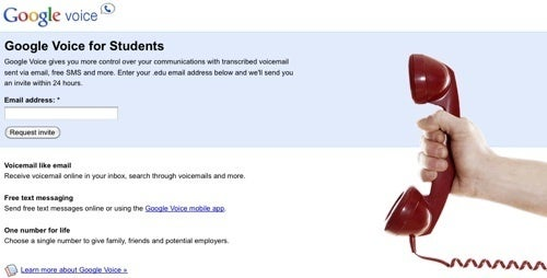 Google Gives Out Voice Invites to Students