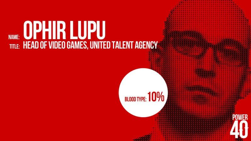 ↓ 28. Ophir Lupu, Video Game Agent, UTA