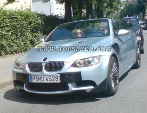 Spy Photos; More M3, Sans Top
