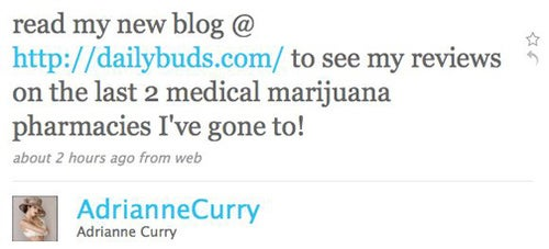 Adrianne Curry Is A Professional Weed Smoker