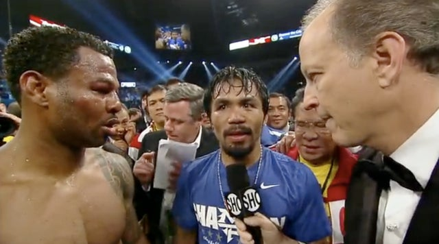 The Pacquiao/Mosley Fight Ended Up Being NASCAR's Undercard Last Night