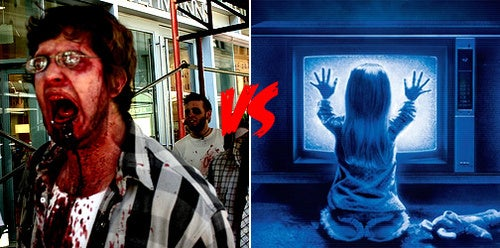Monster Smackdown Day Two: Zombie Vs. Poltergeist!