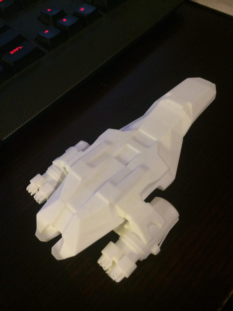 3D-Printed Spaceship From Faster Than Light