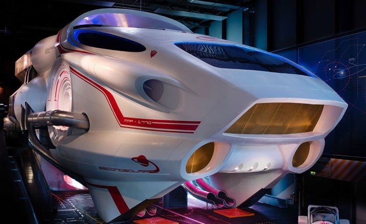 9,000-Square-Foot Spaceship Built in Germany, Open for Your Exploration